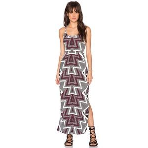 FREE PEOPLE | Geometrical Print Maxi Dress | 0